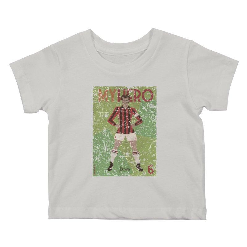 Baresi My Hero Grunge Edition Kids Baby T-Shirt by ZEROSTILE'S ARTIST SHOP
