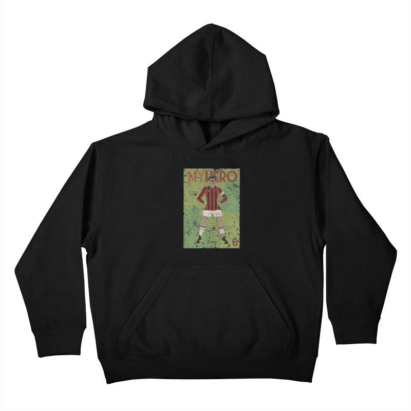 Baresi My Hero Grunge Edition Kids Pullover Hoody by ZEROSTILE'S ARTIST SHOP