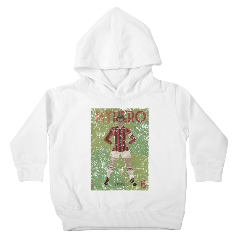 Baresi My Hero Grunge Edition Kids Toddler Pullover Hoody by ZEROSTILE'S ARTIST SHOP