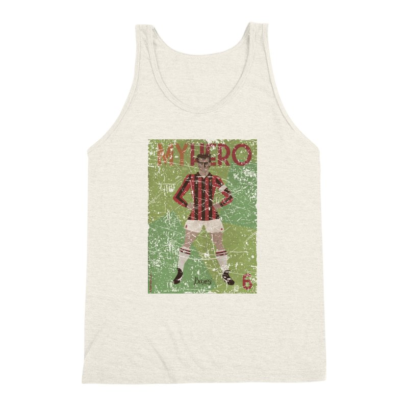 Baresi My Hero Grunge Edition Men's Triblend Tank by ZEROSTILE'S ARTIST SHOP