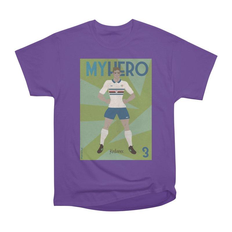 Katanec MyHero Vintage Edition Women's Heavyweight Unisex T-Shirt by ZEROSTILE'S ARTIST SHOP