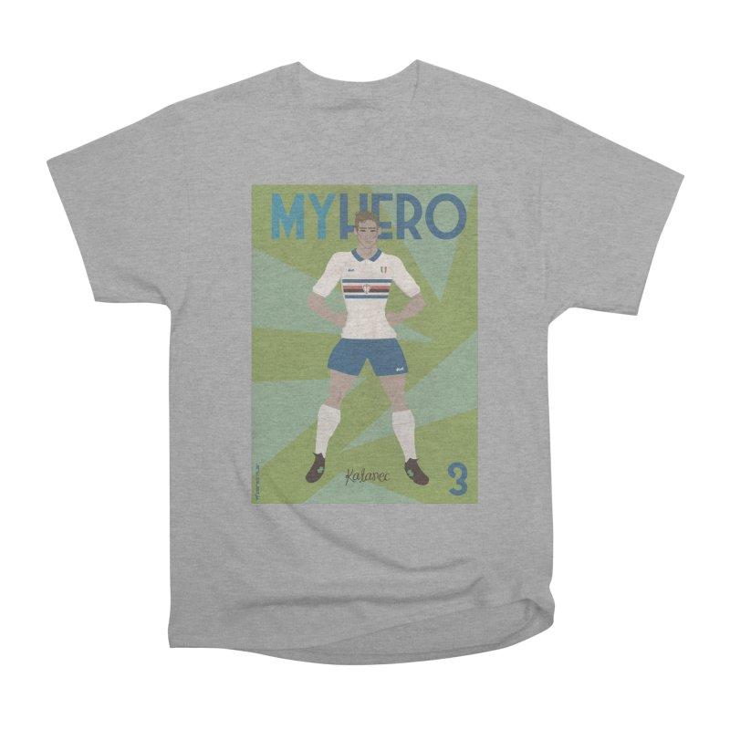 Katanec MyHero Vintage Edition Men's Heavyweight T-Shirt by ZEROSTILE'S ARTIST SHOP