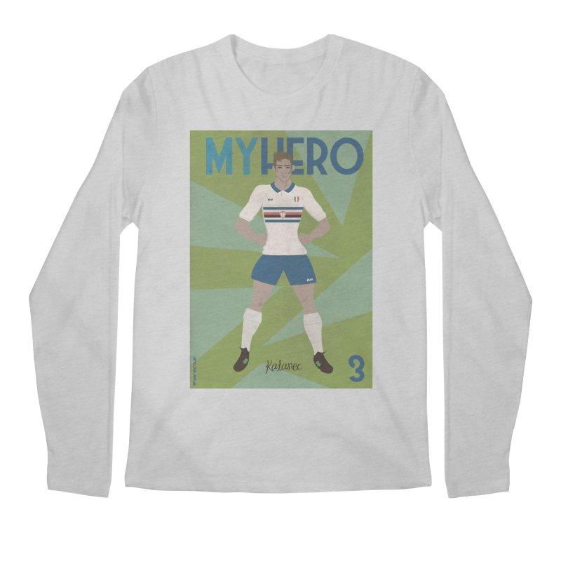 Katanec MyHero Vintage Edition Men's Longsleeve T-Shirt by ZEROSTILE'S ARTIST SHOP