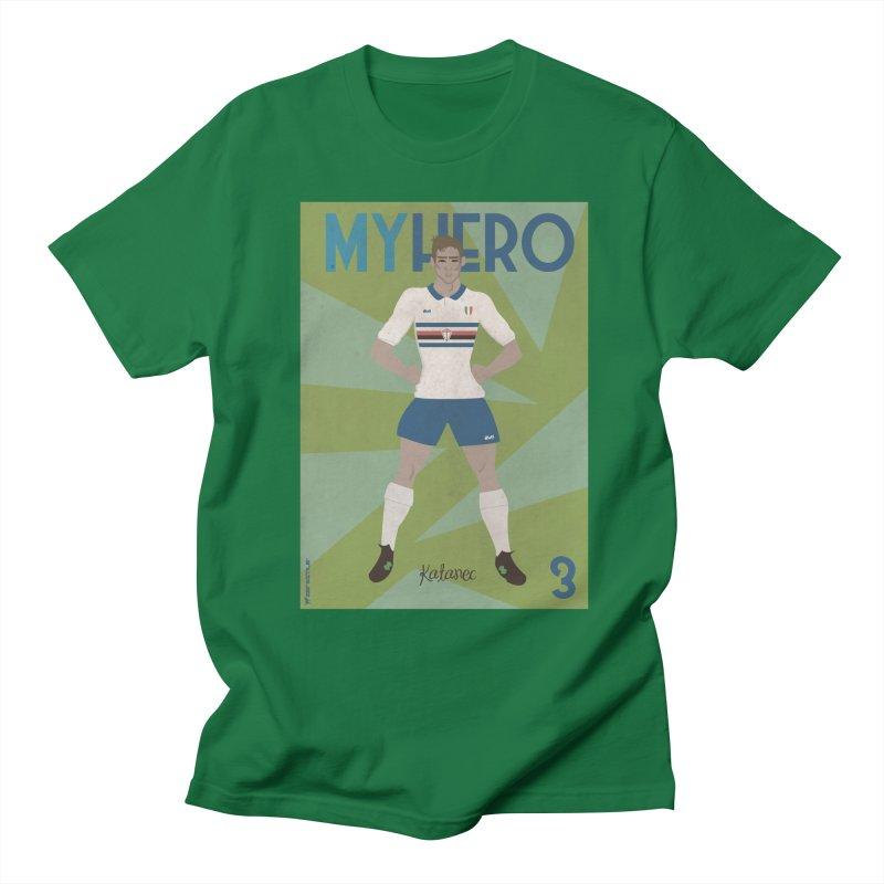Katanec MyHero Vintage Edition Men's T-Shirt by ZEROSTILE'S ARTIST SHOP