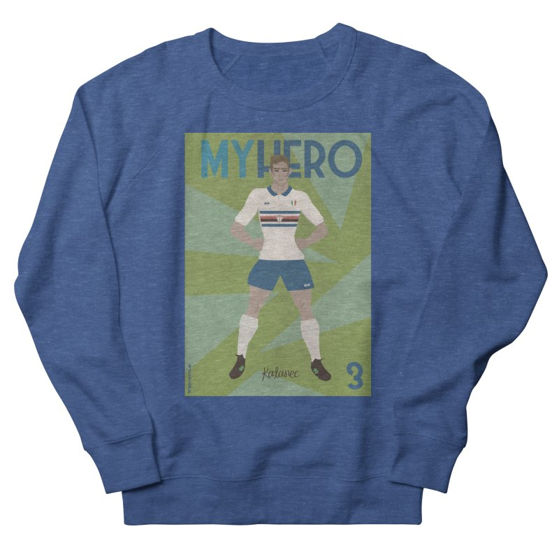 Katanec MyHero Vintage Edition Men's Sweatshirt by ZEROSTILE'S ARTIST SHOP