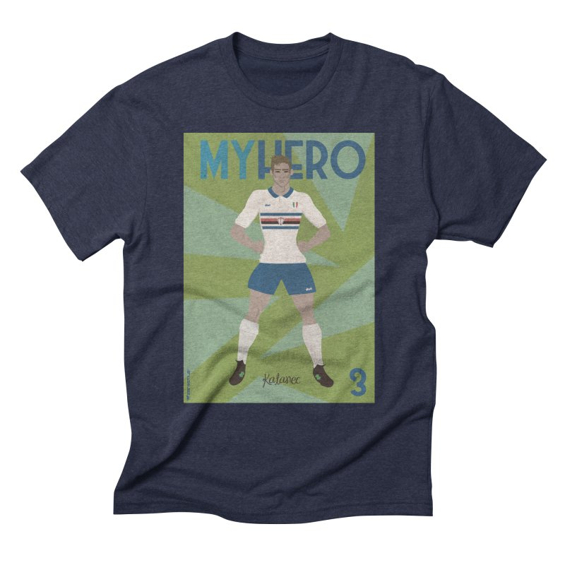 Katanec MyHero Vintage Edition Men's Triblend T-Shirt by ZEROSTILE'S ARTIST SHOP