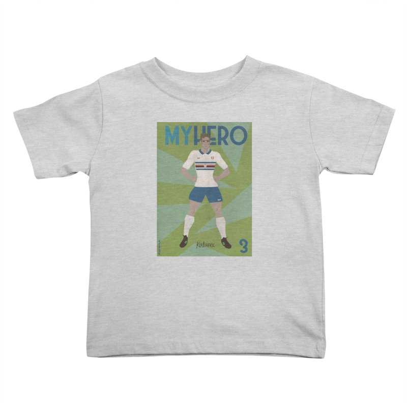 Katanec MyHero Vintage Edition Kids Toddler T-Shirt by ZEROSTILE'S ARTIST SHOP