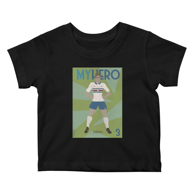 Katanec MyHero Vintage Edition Kids Baby T-Shirt by ZEROSTILE'S ARTIST SHOP
