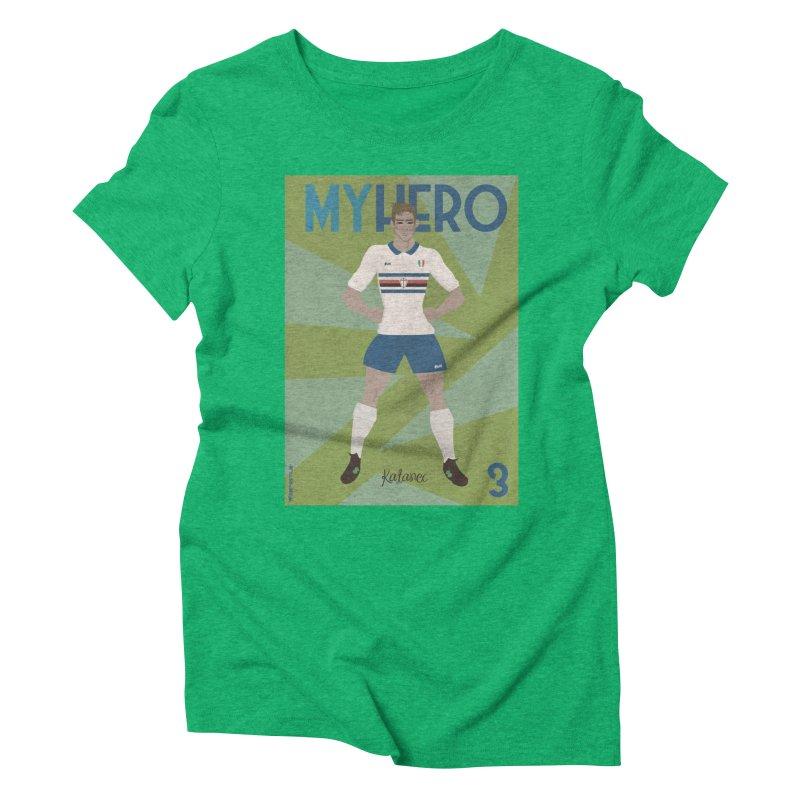 Katanec MyHero Vintage Edition Women's Triblend T-Shirt by ZEROSTILE'S ARTIST SHOP