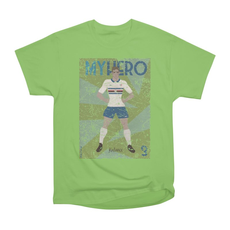 Katanec My Hero Grunge Edition Men's Heavyweight T-Shirt by ZEROSTILE'S ARTIST SHOP