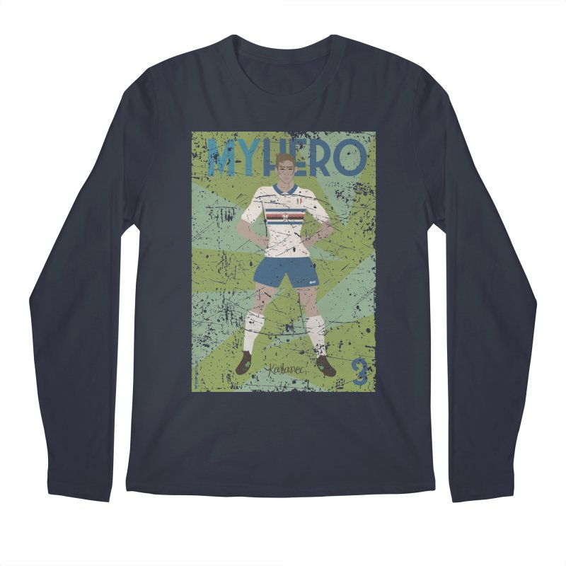Katanec My Hero Grunge Edition Men's Longsleeve T-Shirt by ZEROSTILE'S ARTIST SHOP