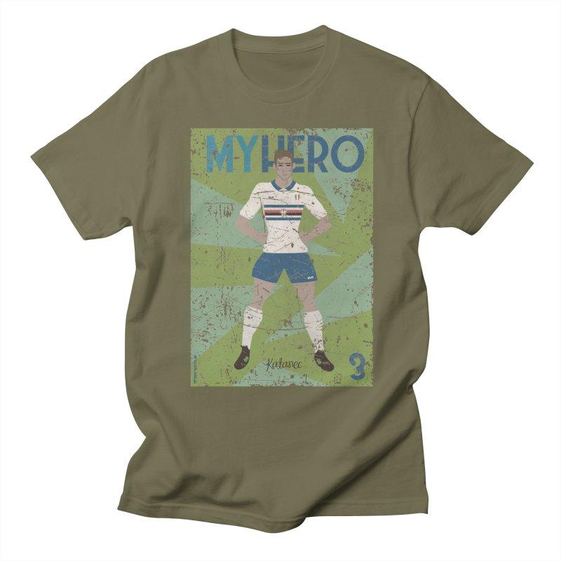Katanec My Hero Grunge Edition Men's T-Shirt by ZEROSTILE'S ARTIST SHOP