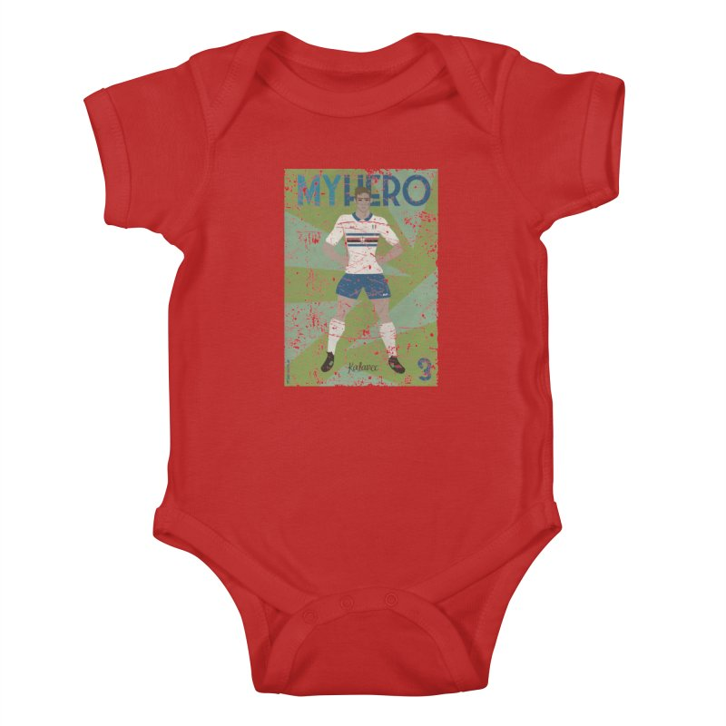 Katanec My Hero Grunge Edition Kids Baby Bodysuit by ZEROSTILE'S ARTIST SHOP