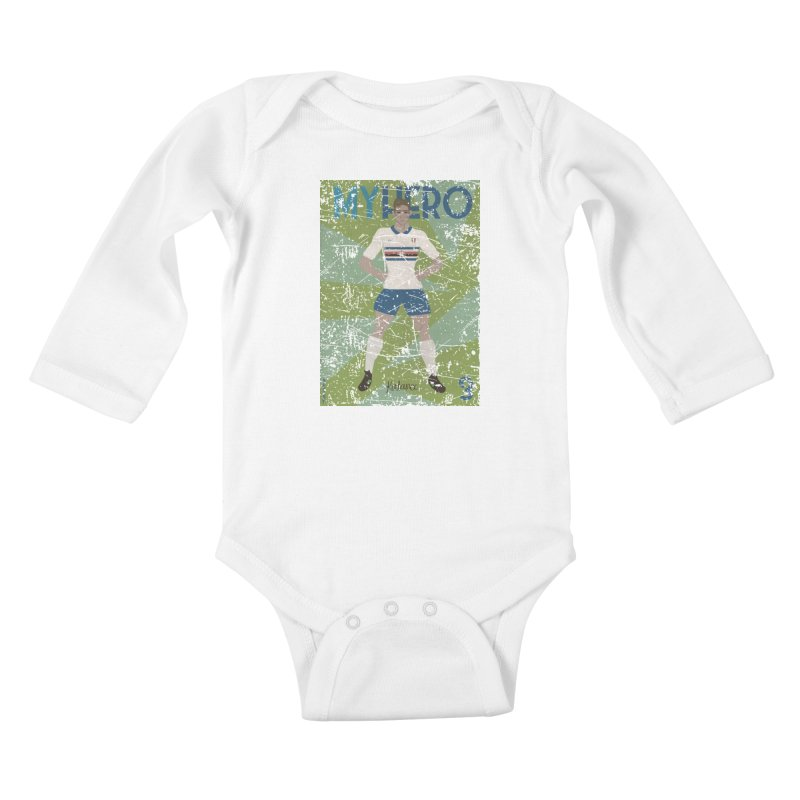 Katanec My Hero Grunge Edition Kids Baby Longsleeve Bodysuit by ZEROSTILE'S ARTIST SHOP