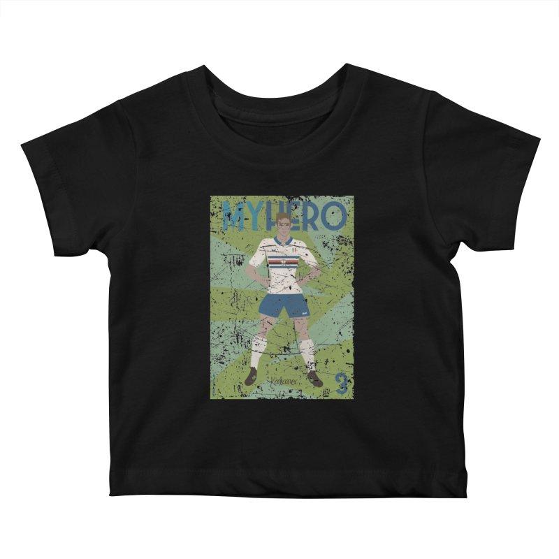 Katanec My Hero Grunge Edition Kids Baby T-Shirt by ZEROSTILE'S ARTIST SHOP