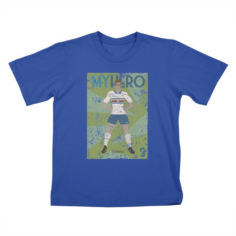 Katanec My Hero Grunge Edition Kids T-Shirt by ZEROSTILE'S ARTIST SHOP