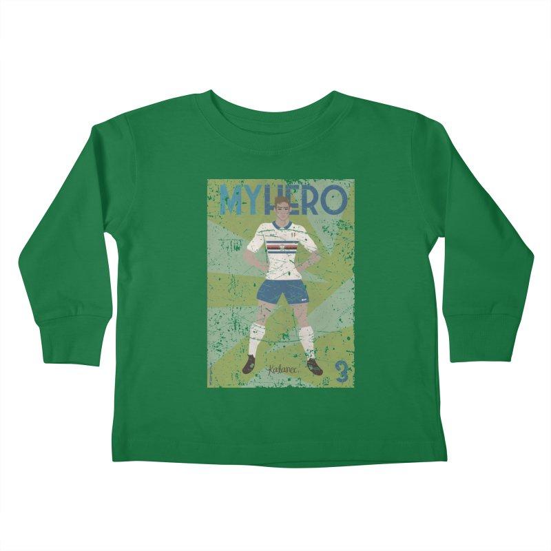 Katanec My Hero Grunge Edition Kids Toddler Longsleeve T-Shirt by ZEROSTILE'S ARTIST SHOP
