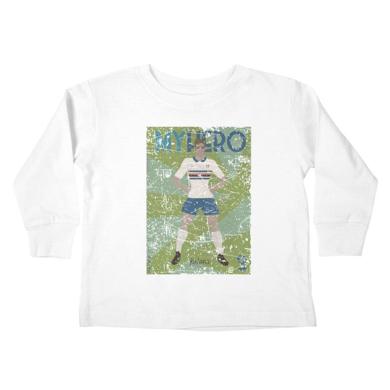 Katanec My Hero Grunge Edition Kids Toddler Longsleeve T-Shirt by ZEROSTILE'S ARTIST SHOP