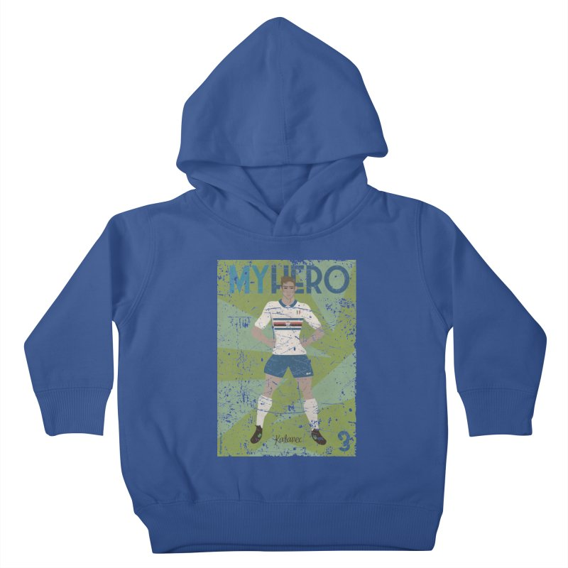 Katanec My Hero Grunge Edition Kids Toddler Pullover Hoody by ZEROSTILE'S ARTIST SHOP