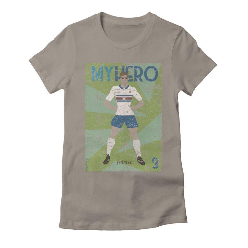 Katanec My Hero Grunge Edition Women's Fitted T-Shirt by ZEROSTILE'S ARTIST SHOP