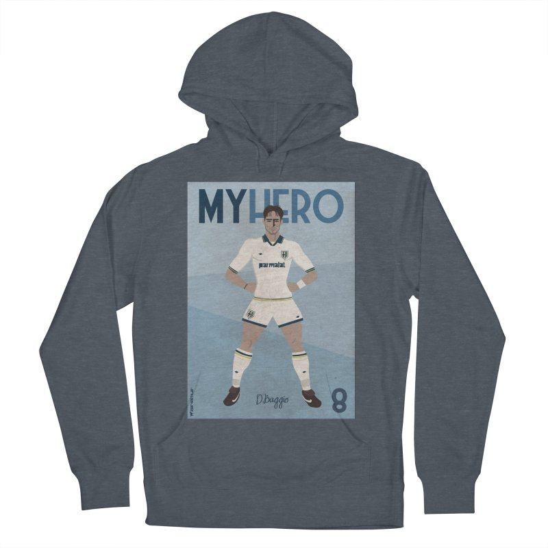 Dino Baggio My Hero Vintage Edition Men's Pullover Hoody by ZEROSTILE'S ARTIST SHOP