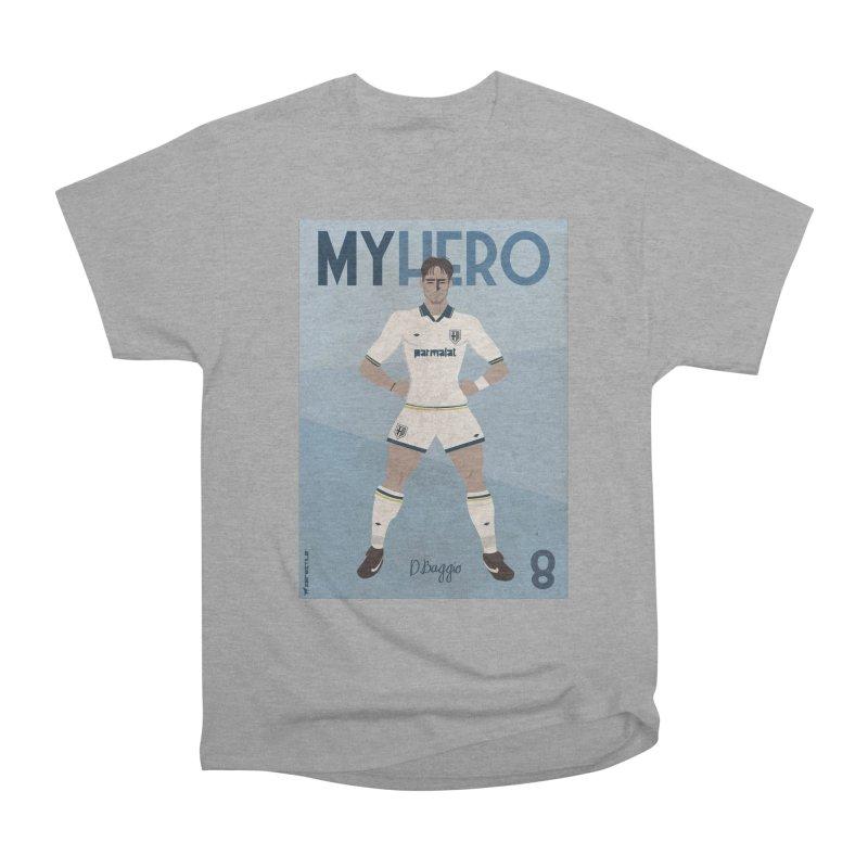Dino Baggio My Hero Vintage Edition Women's Classic Unisex T-Shirt by ZEROSTILE'S ARTIST SHOP