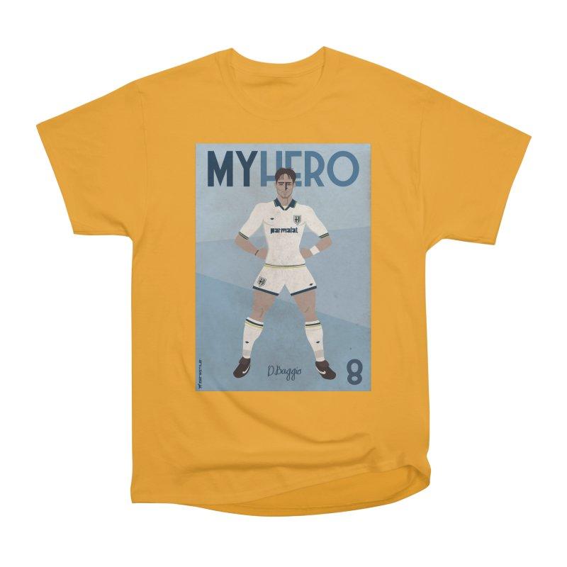 Dino Baggio My Hero Vintage Edition Men's Classic T-Shirt by ZEROSTILE'S ARTIST SHOP