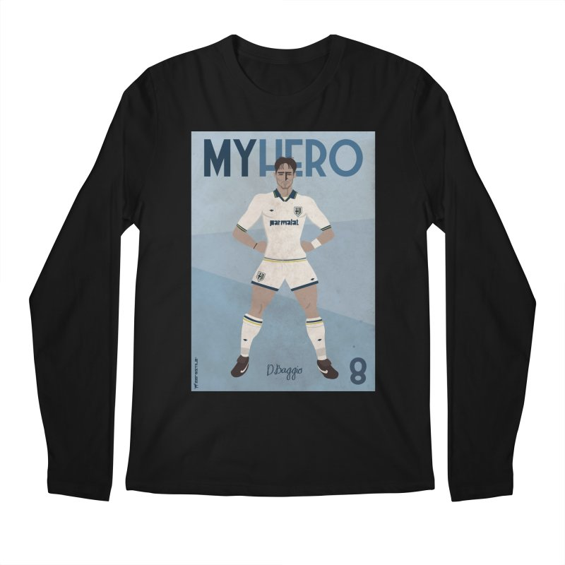 Dino Baggio My Hero Vintage Edition Men's Longsleeve T-Shirt by ZEROSTILE'S ARTIST SHOP