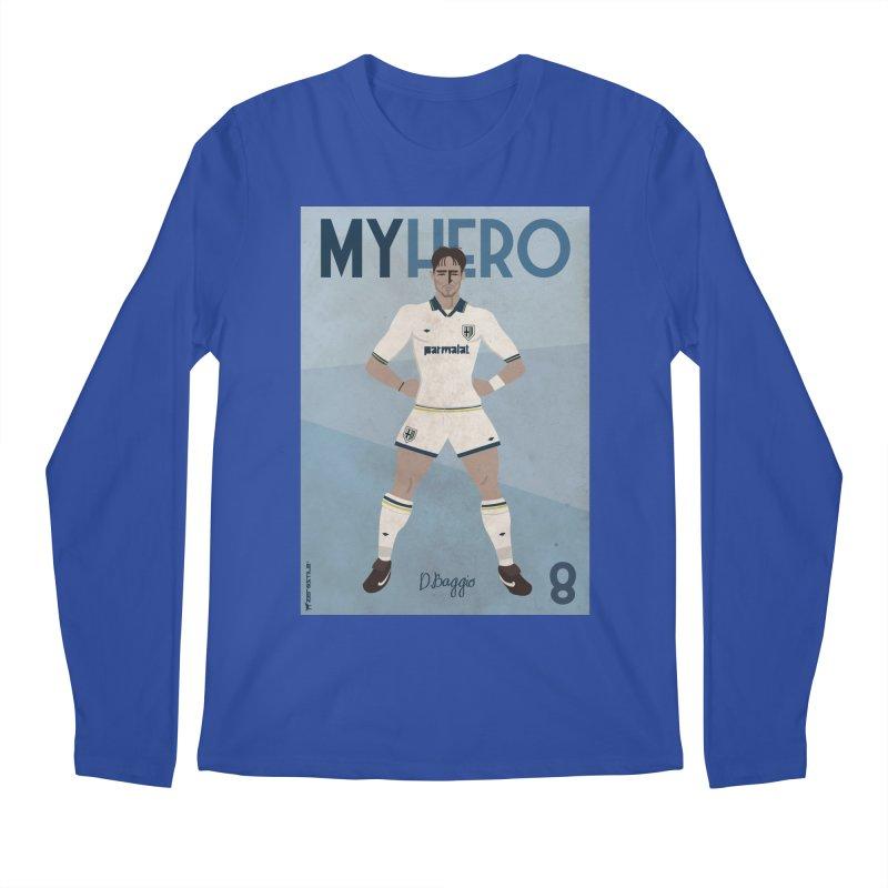 Dino Baggio My Hero Vintage Edition Men's Longsleeve T-Shirt by ZEROSTILE'S ARTIST SHOP