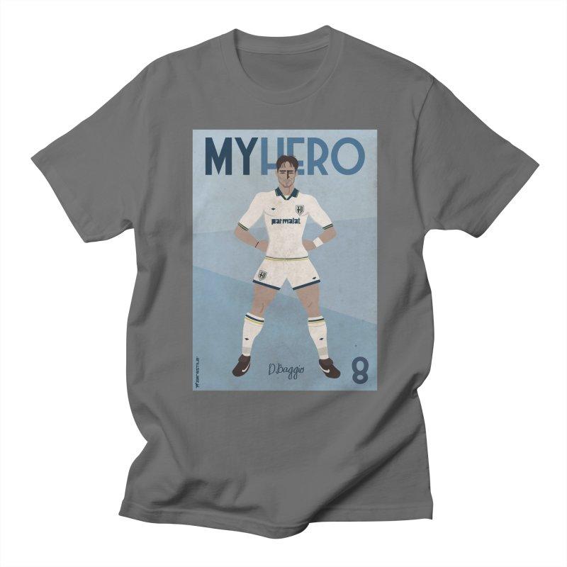 Dino Baggio My Hero Vintage Edition Women's Unisex T-Shirt by ZEROSTILE'S ARTIST SHOP