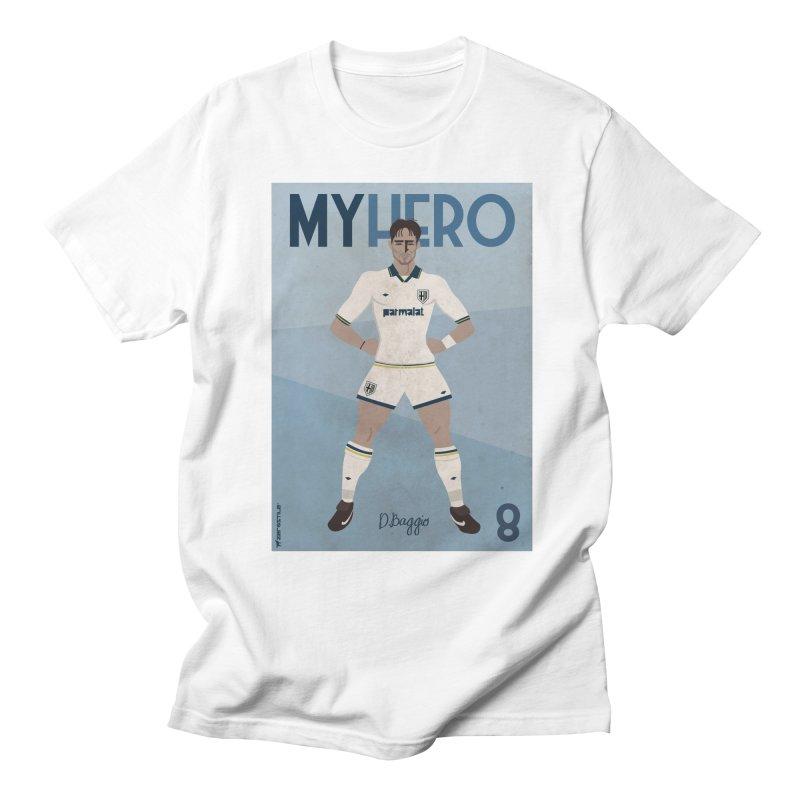 Dino Baggio My Hero Vintage Edition Men's T-Shirt by ZEROSTILE'S ARTIST SHOP