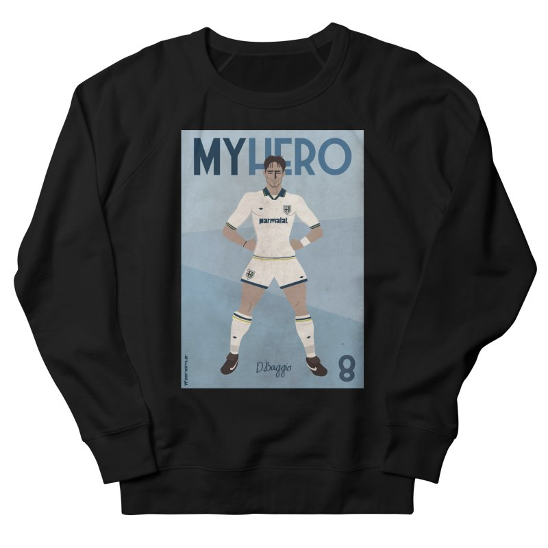 Dino Baggio My Hero Vintage Edition Women's Sweatshirt by ZEROSTILE'S ARTIST SHOP
