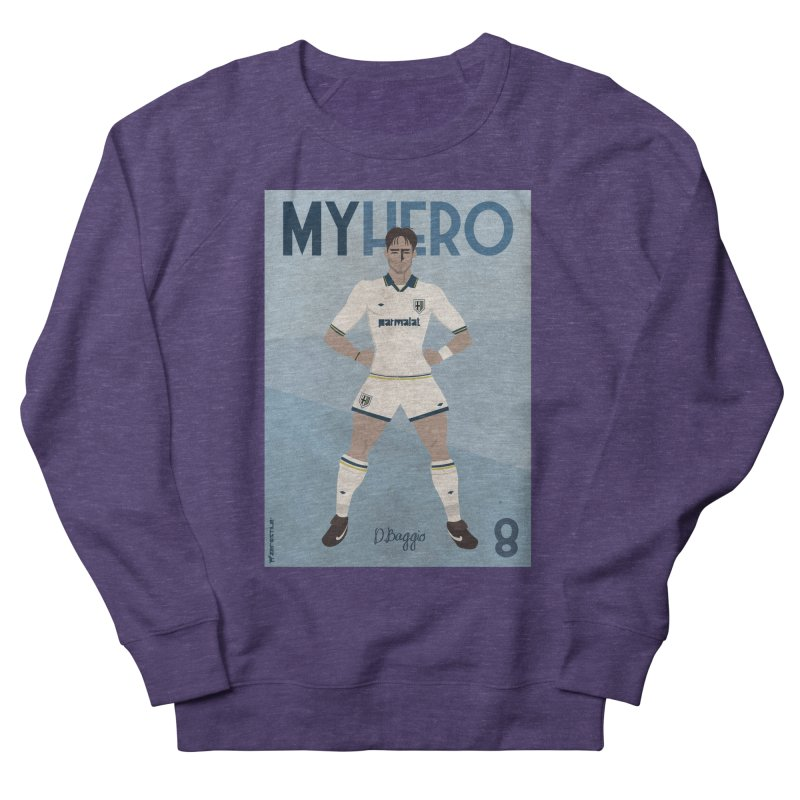 Dino Baggio My Hero Vintage Edition Men's Sweatshirt by ZEROSTILE'S ARTIST SHOP