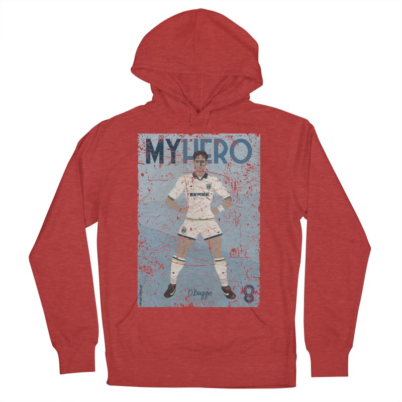 Dino Baggio My Hero Grunge Edition Men's Pullover Hoody by ZEROSTILE'S ARTIST SHOP