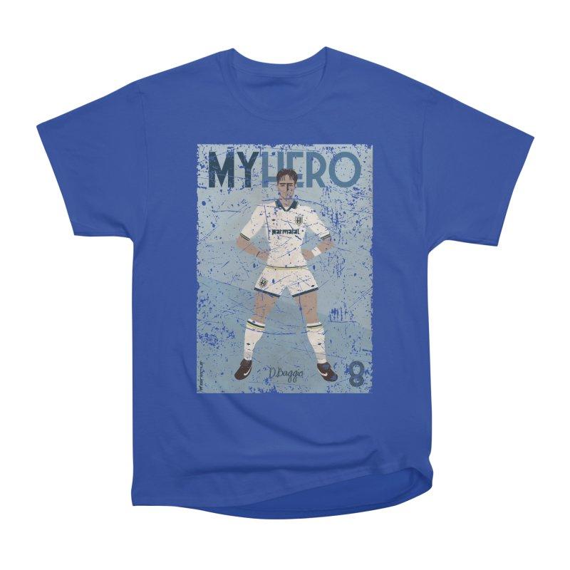 Dino Baggio My Hero Grunge Edition Women's Heavyweight Unisex T-Shirt by ZEROSTILE'S ARTIST SHOP
