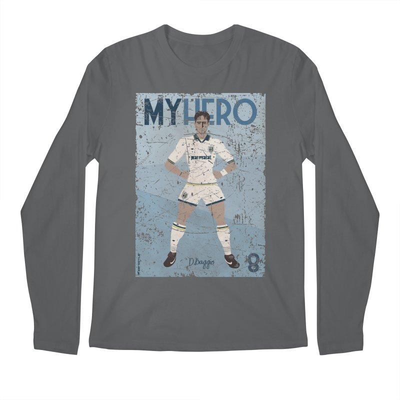 Dino Baggio My Hero Grunge Edition Men's Longsleeve T-Shirt by ZEROSTILE'S ARTIST SHOP