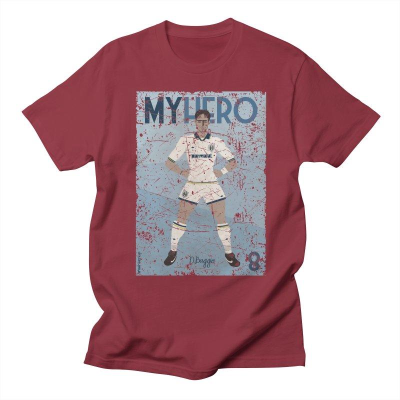 Dino Baggio My Hero Grunge Edition Men's T-Shirt by ZEROSTILE'S ARTIST SHOP