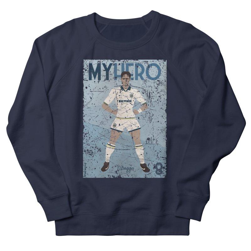 Dino Baggio My Hero Grunge Edition Women's Sweatshirt by ZEROSTILE'S ARTIST SHOP