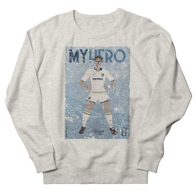 Dino Baggio My Hero Grunge Edition Men's Sweatshirt by ZEROSTILE'S ARTIST SHOP