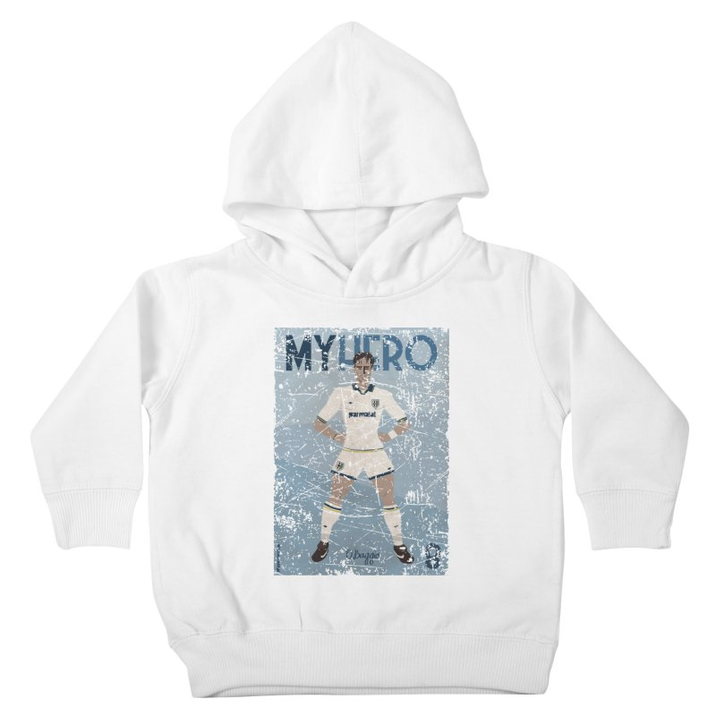 Dino Baggio My Hero Grunge Edition Kids Toddler Pullover Hoody by ZEROSTILE'S ARTIST SHOP