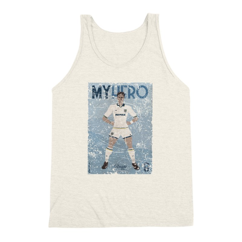 Dino Baggio My Hero Grunge Edition Men's Triblend Tank by ZEROSTILE'S ARTIST SHOP