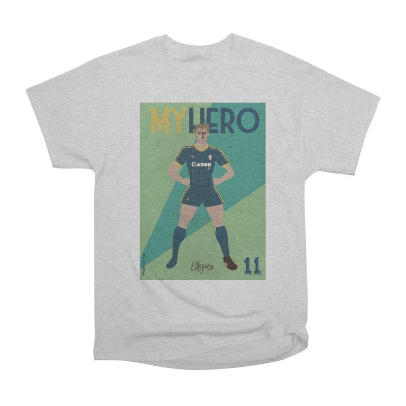 Elkjaer My Hero Vintage Edition Women's Heavyweight Unisex T-Shirt by ZEROSTILE'S ARTIST SHOP