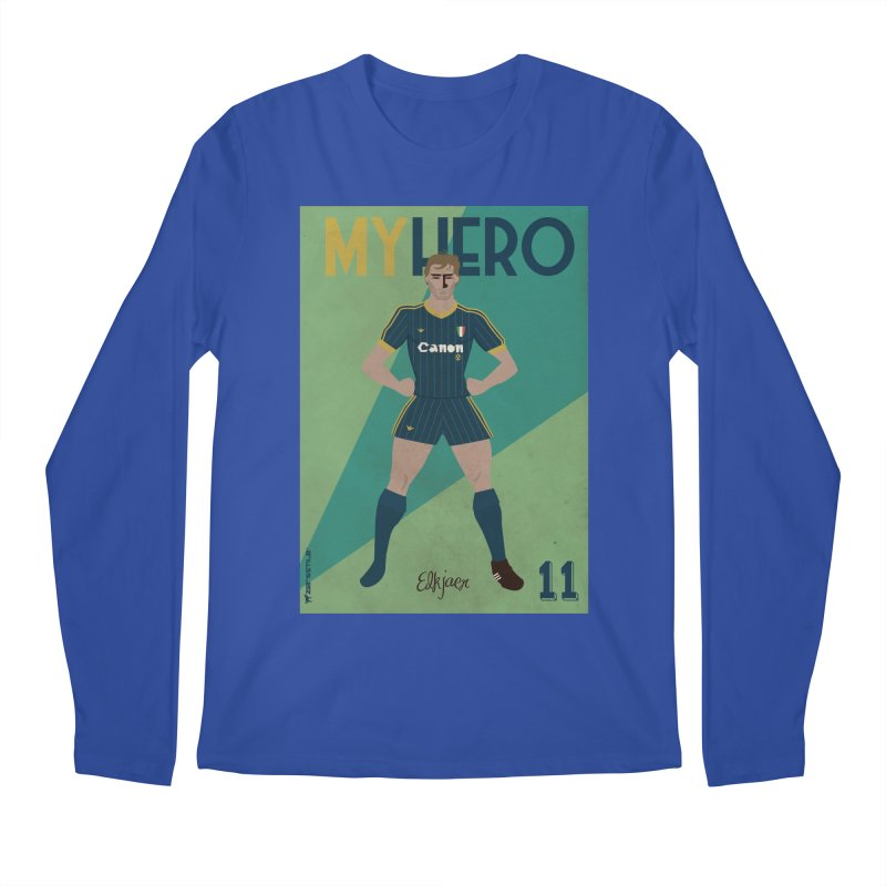 Elkjaer My Hero Vintage Edition Men's Longsleeve T-Shirt by ZEROSTILE'S ARTIST SHOP