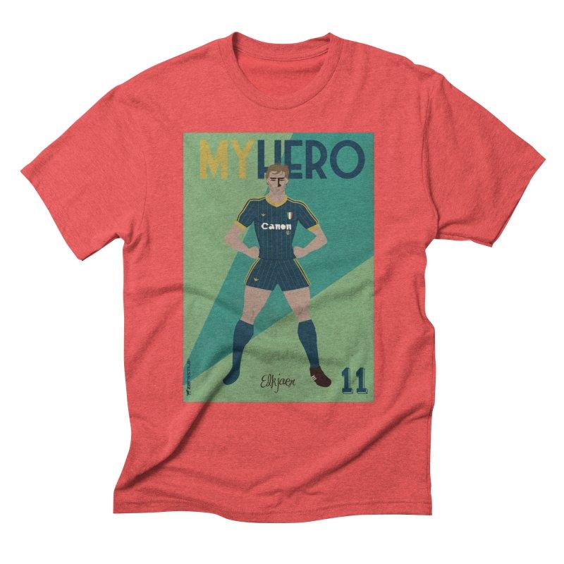 Elkjaer My Hero Vintage Edition Men's Triblend T-Shirt by ZEROSTILE'S ARTIST SHOP