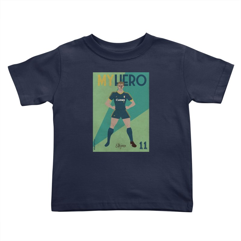 Elkjaer My Hero Vintage Edition Kids Toddler T-Shirt by ZEROSTILE'S ARTIST SHOP