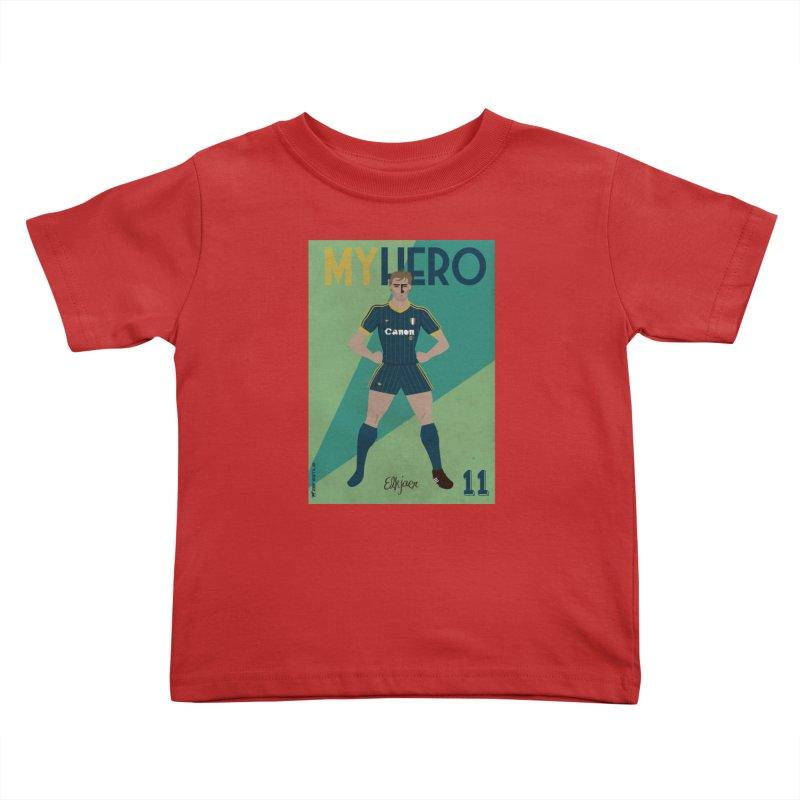 Elkjaer My Hero Vintage Edition Kids Toddler T-Shirt by ZEROSTILE'S ARTIST SHOP