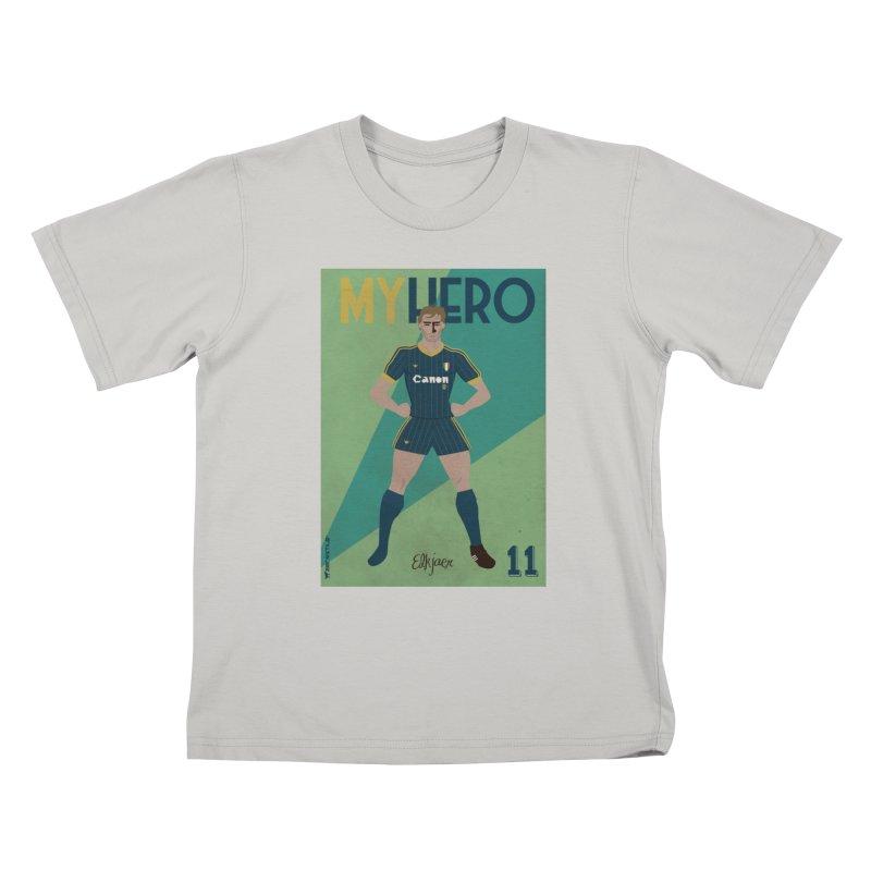 Elkjaer My Hero Vintage Edition Kids T-shirt by ZEROSTILE'S ARTIST SHOP
