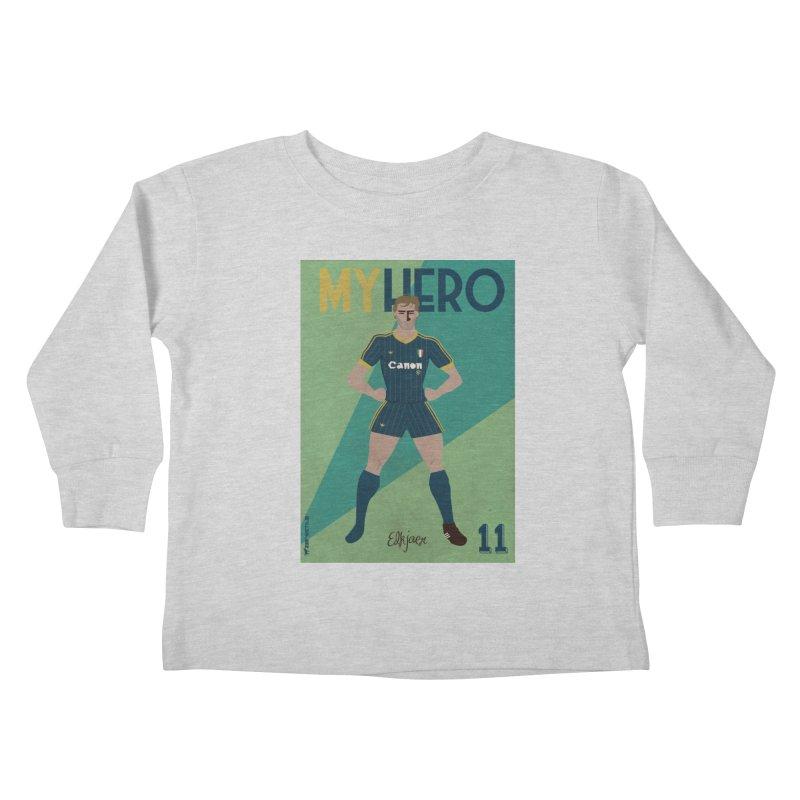 Elkjaer My Hero Vintage Edition Kids Toddler Longsleeve T-Shirt by ZEROSTILE'S ARTIST SHOP