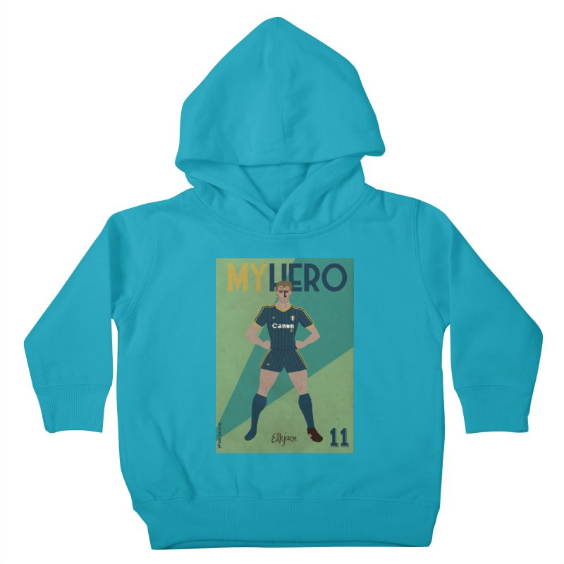 Elkjaer My Hero Vintage Edition Kids Toddler Pullover Hoody by ZEROSTILE'S ARTIST SHOP