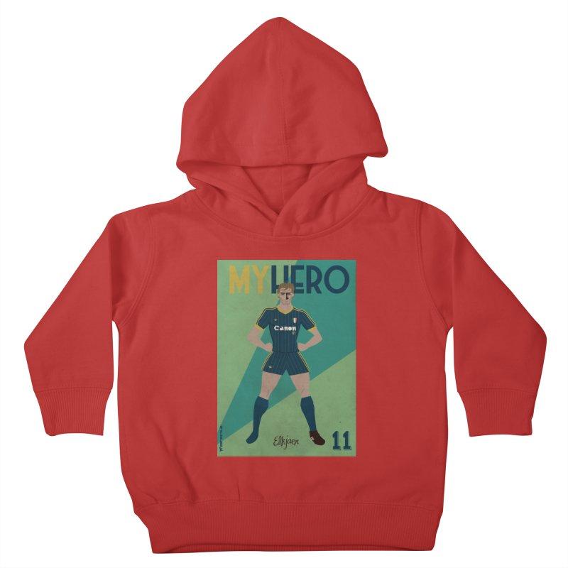 Elkjaer My Hero Vintage Edition Kids Toddler Pullover Hoody by ZEROSTILE'S ARTIST SHOP